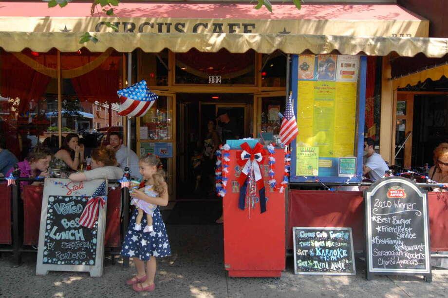 Circus Cafe in Saratoga Springs.