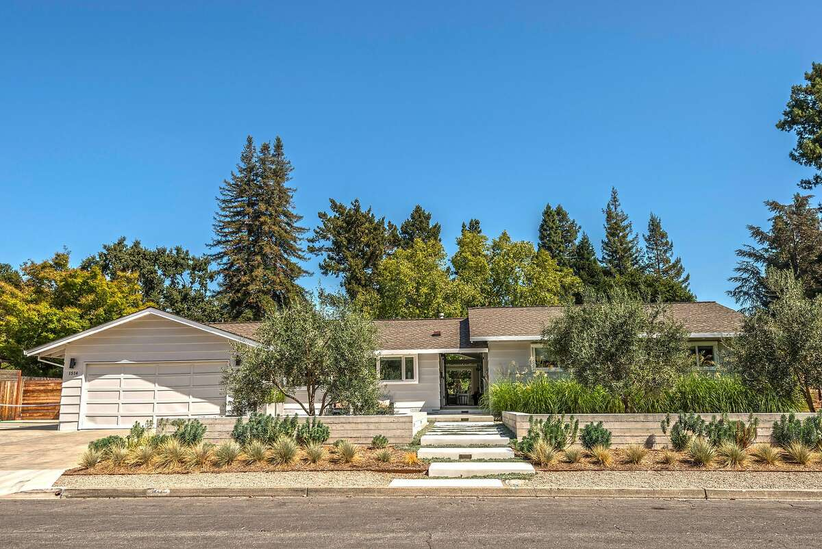 1514 Silver Trail in Napa was built in 1962.