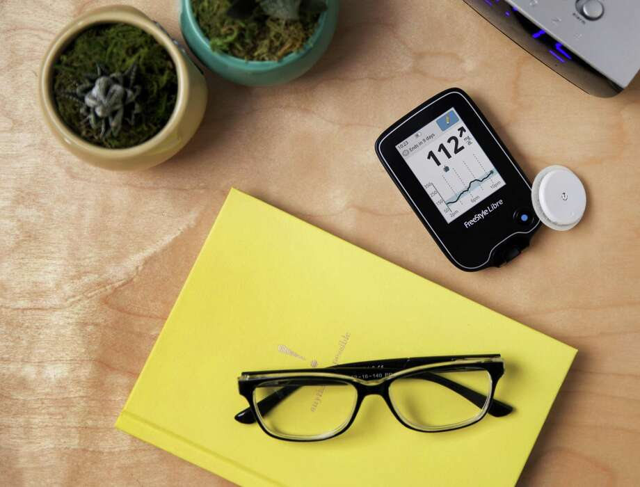 The Food and Drug Administration has approved the FreeStyle Libre flash glucose monitoring device, which continuously monitors diabetics blood sugar levels without requiring backup finger prick tests. Photo: Abbott Laboratories / Abbott Laboratories