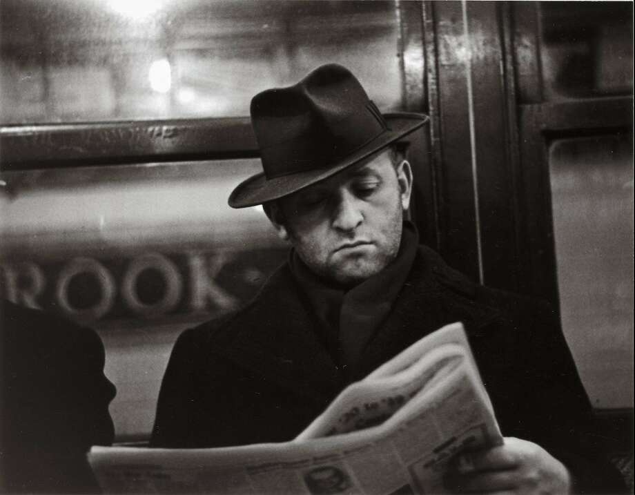 """Subway Portrait"" (1938-41) is among Evans photos on view at S.F. Museum of Modern Art. Photo: � Walker Evans Archive, Metropolitan Museum Of Art"