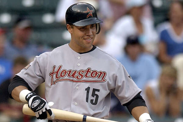 Houston Astros' Carlos Beltran smiles as he walks up to the batters box for his first at-bat as an Astro in a game against the Texas Rangers, Friday, June 25, 2004, in Arlington, Texas. Beltran, who was traded Thursday from Kansas City, reached first on an infield hit off Rangers pitcher Kenny Rogers. (AP Photo/Tony Gutierrez) Ran on: 07-04-2004 Ex-Royal Carlos Beltran is expected to bolt from Houston after the season -- unless he's traded again by the July 31 deadline. Ran on: 01-09-2005 Ran on: 01-09-2005 Ran on: 01-09-2005