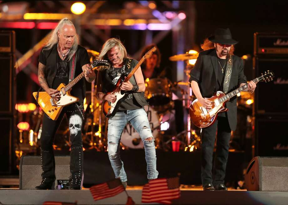 Lynyrd Skynyrd: The band will be performing at the Smart Financial Centre on Thursday, Oct. 5 at 8 p.m.More Details: www.smartfinancialcentre.net Photo: Christopher Polk/Getty Images For Spike