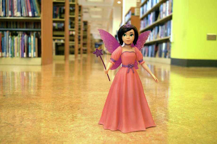 The cousin of slain Sandy Hook School principal Dawn Hochsprung has created a book fairy figurine as an incentive for kids to read. The cousin, New York-based Melanie Bunch, created the figurine to help reduce illiteracy and to honor Hochsprung, who used to dress as a book fairy and visit classrooms, granting students extra reading time. Photo: Contributed Photo / Hearst Connecticut Media / The News-Times Contributed
