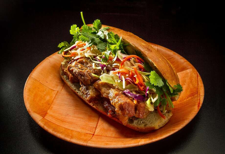 The Pork Belly Sandwich at Cafe Bunn Mi in San Francisco. Photo: John Storey, Special To The Chronicle