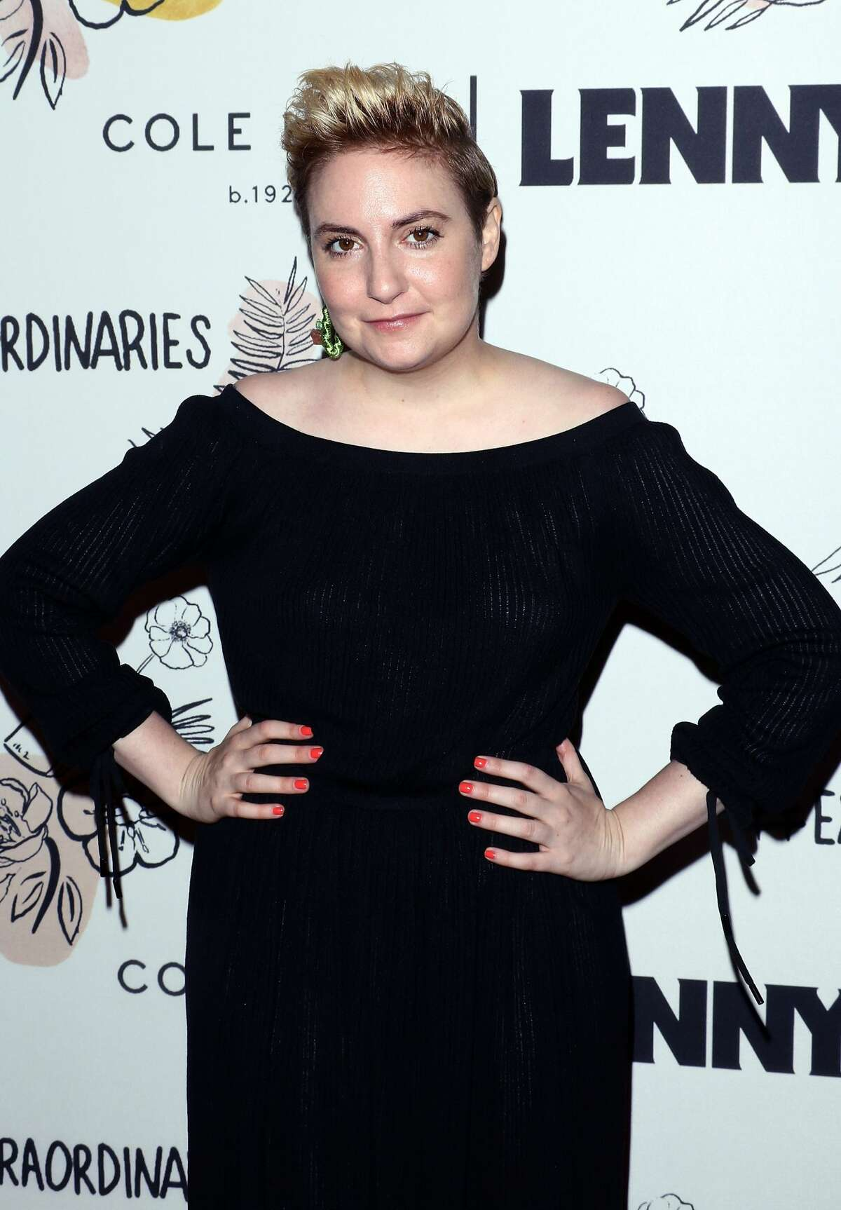 Actress Lena Dunham attends The 2nd Anniversary Party for Lenny, in partnership with Cole Haan at The Jane Hotel on September 15, 2017 in New York City.