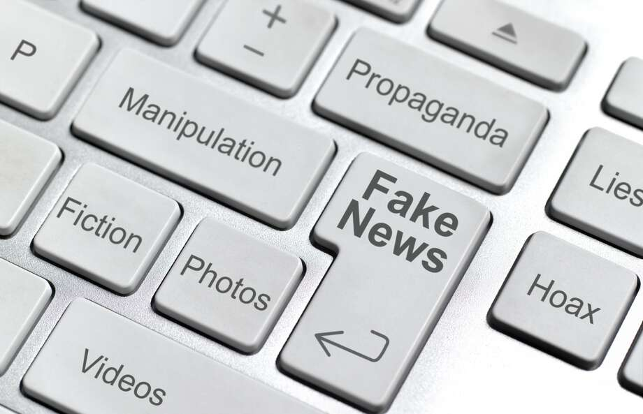 """Fake news"" is among the new Dictionary.com entries for 2017. Photo: Peter Dazeley/Getty Images"