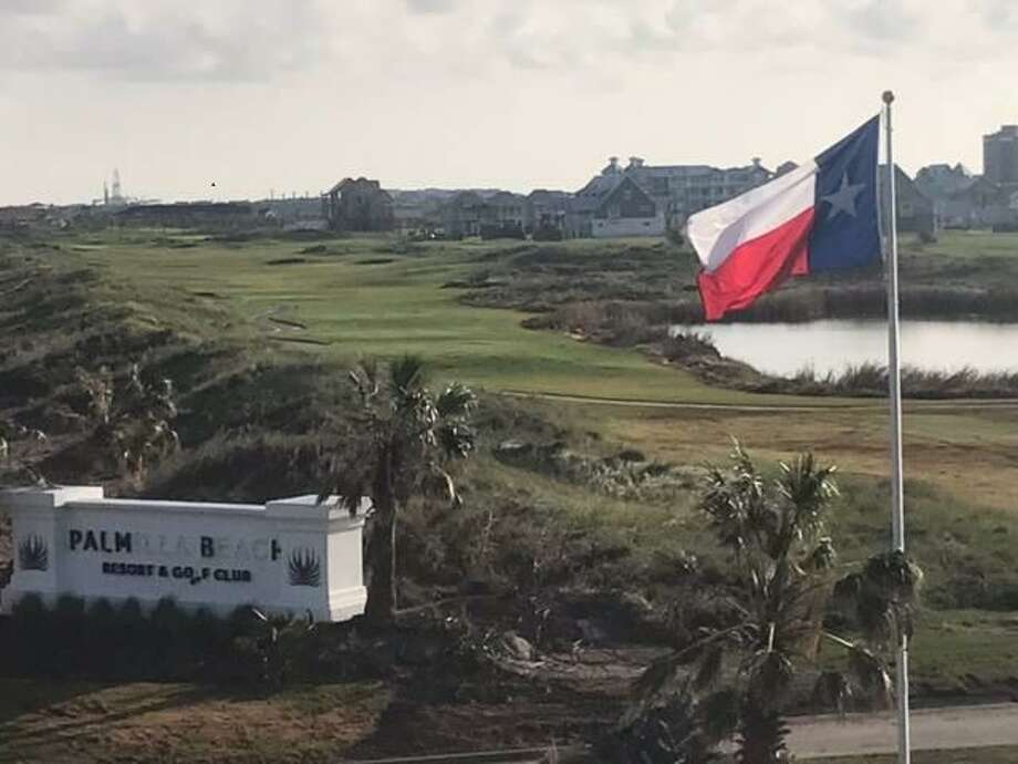 Hurricane Harvey caused wind damage at McCombs Properties' Palmilla Beach Resort and its golf course. Photo: /courtesy