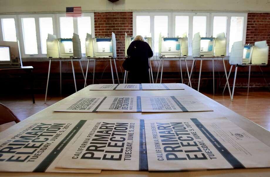 California has moved its presidential primary back and forth between June and March several times, and will do so again when the state's next such election will be held on March 3, 2020. Photo: Rich Pedroncelli, AP
