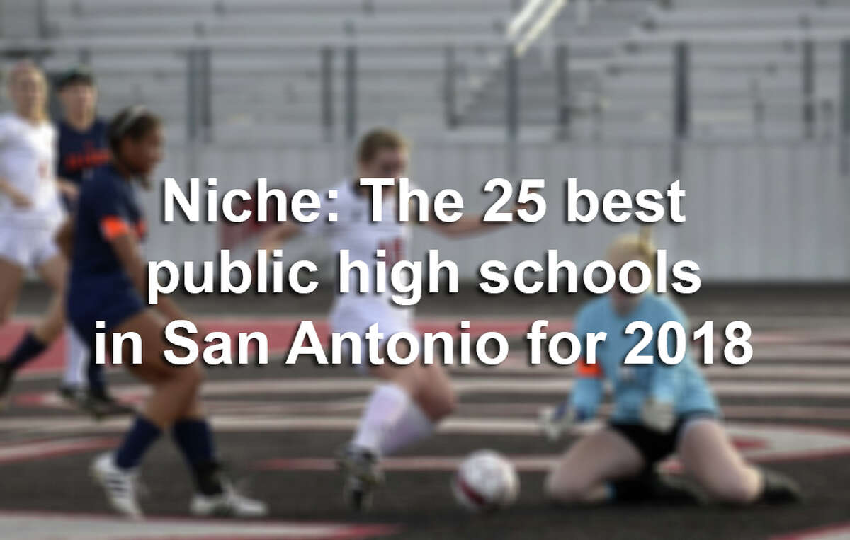 Click ahead to find out the high schools named the best in the San Antonio area for the 2017-18 school year, according to Niche.