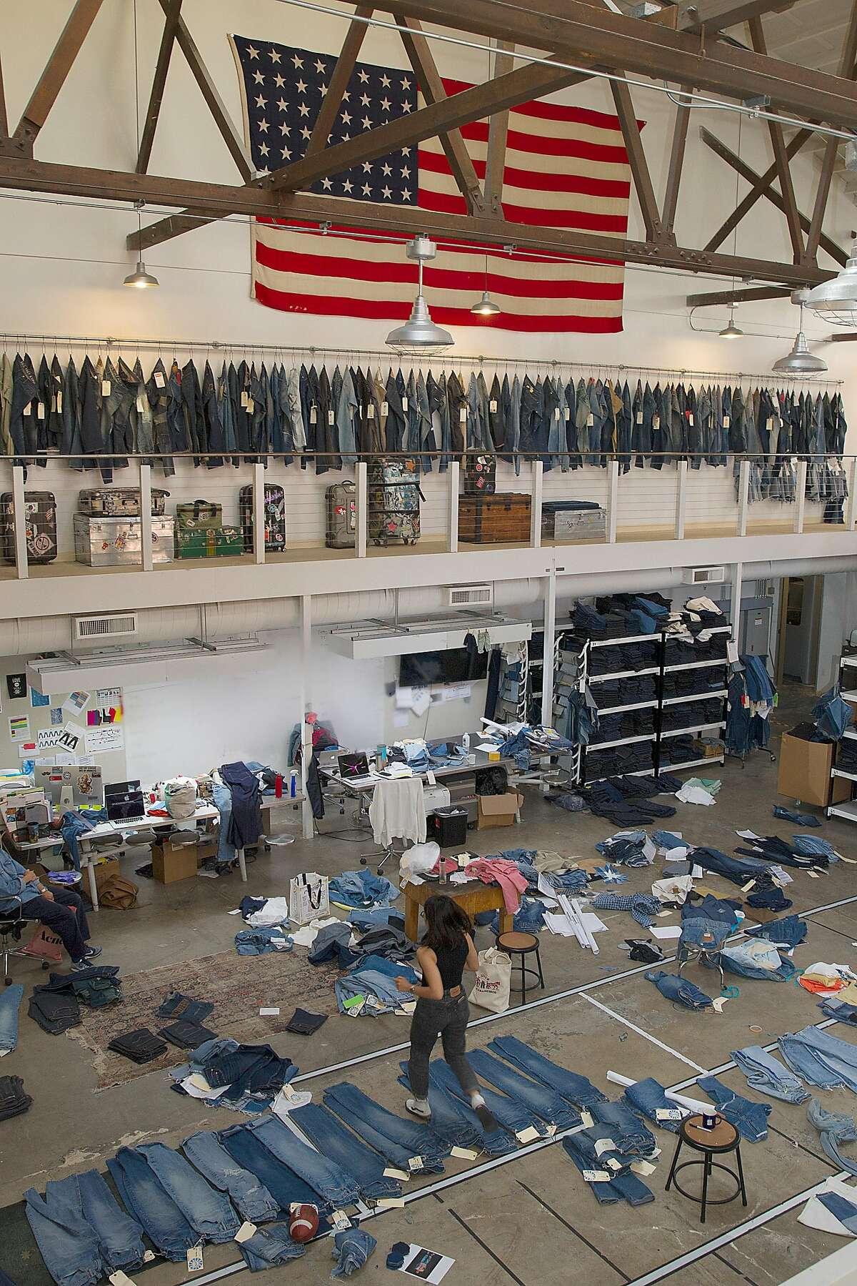 Levi's innovation lab on Thursday, September 21, 2017, in San Francisco, Calif.