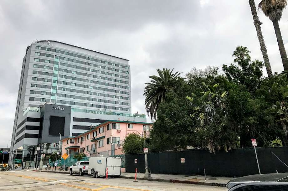 The brand new Kimpton Everly is located uphill from the famous Hollywood & Vine intersection (Photo: Chris McGinnis)