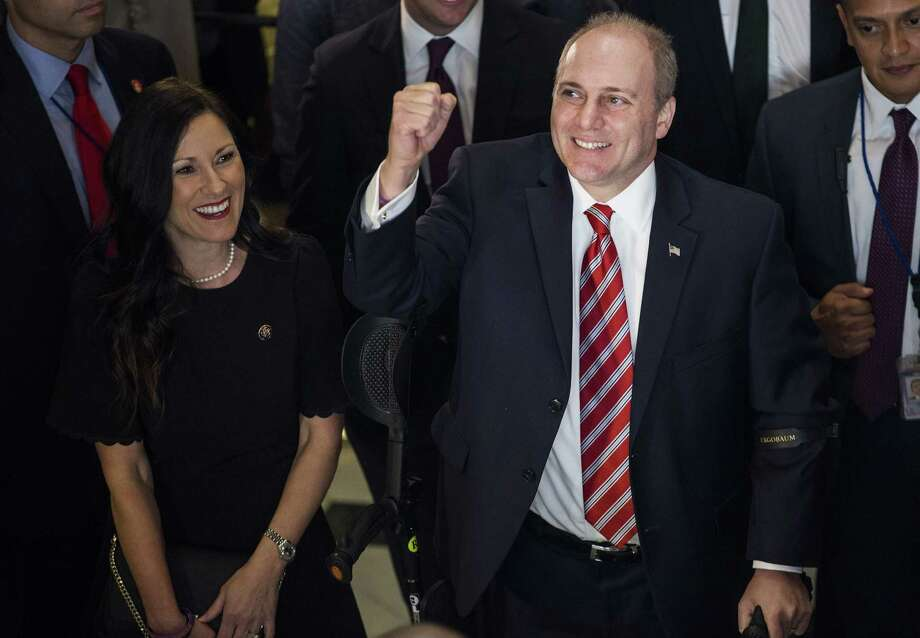 Three Months After Shooting, Steve Scalise Makes Emotional Return to the House