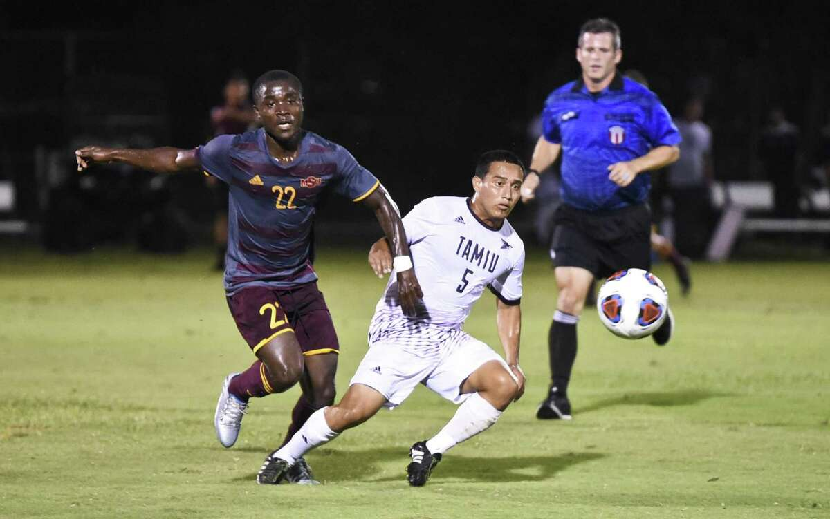 Kevin Hernandez and TAMIU face two Heartland Conference South division rivals this week hosting No. 15 St. Edward's Thursday before playing at St. Mary's Saturday.