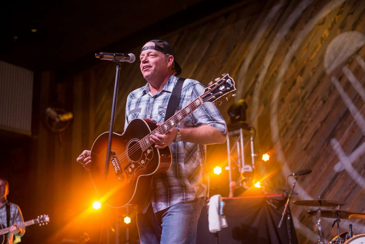 San Antonio's massive food and drink complex The Rustic made its grand opening Thursday, Sept. 28, 2017, with an invitation-only party. Singer and part owner Pat Green also performed at the grand opening.