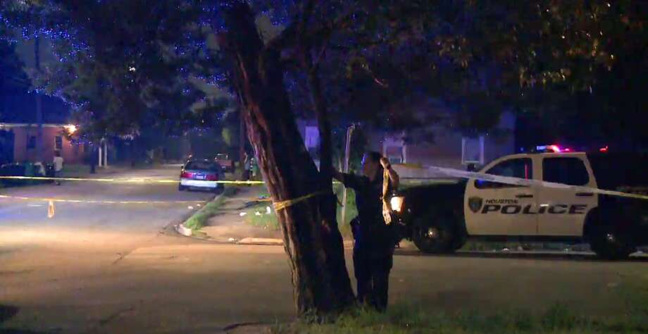 One man is injured after at least eight shots were fired early Friday in the Third Ward. (Metro Video) Photo: Metro Video