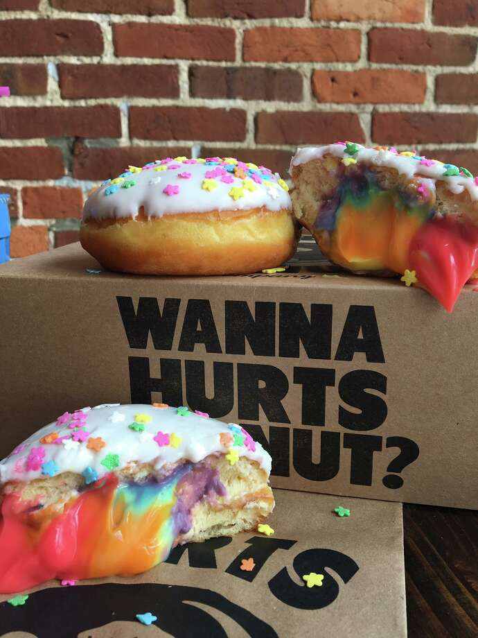 Rainbow-filled Photo: Hurts Donut/Facebook
