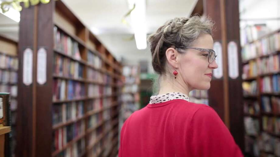 Renée Rettig is the owner of the new Books on B in Hayward. Photo: Kate Catron