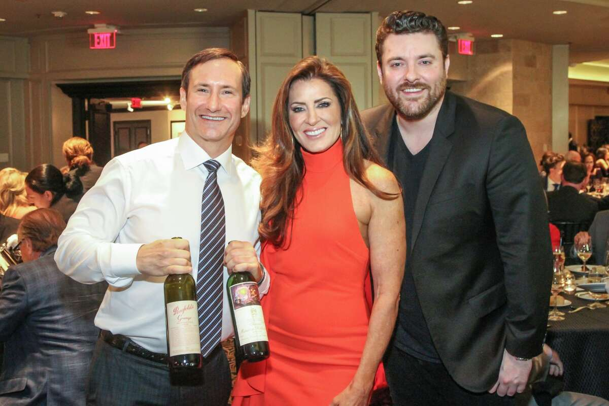 Dean Putterman and Caroline Kenney with Chris Young