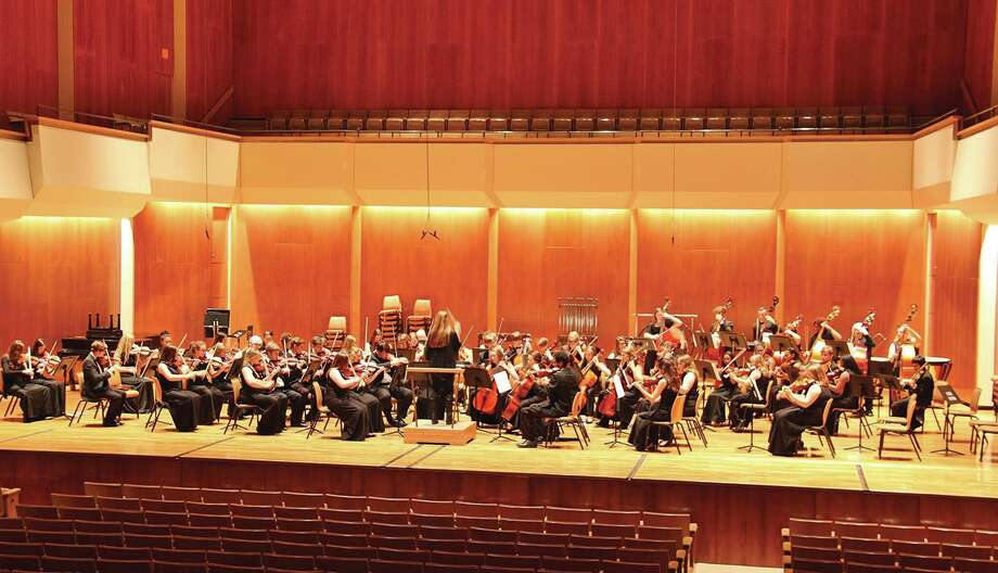 The Edwardsville High School Orchestra performs at the University of Illinois. Photo: For The Intelligencer