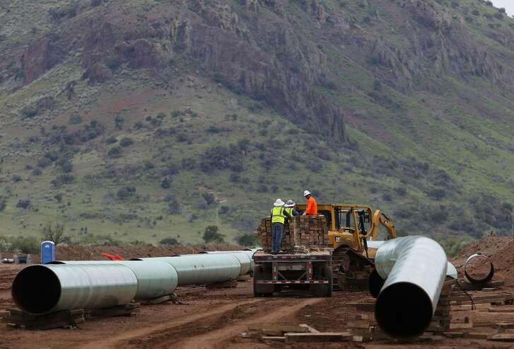San Antonio-based Andeavor Logistics is planning to build new natural gas liquids pipelines in North Dakota's Bakken shale oil field.
