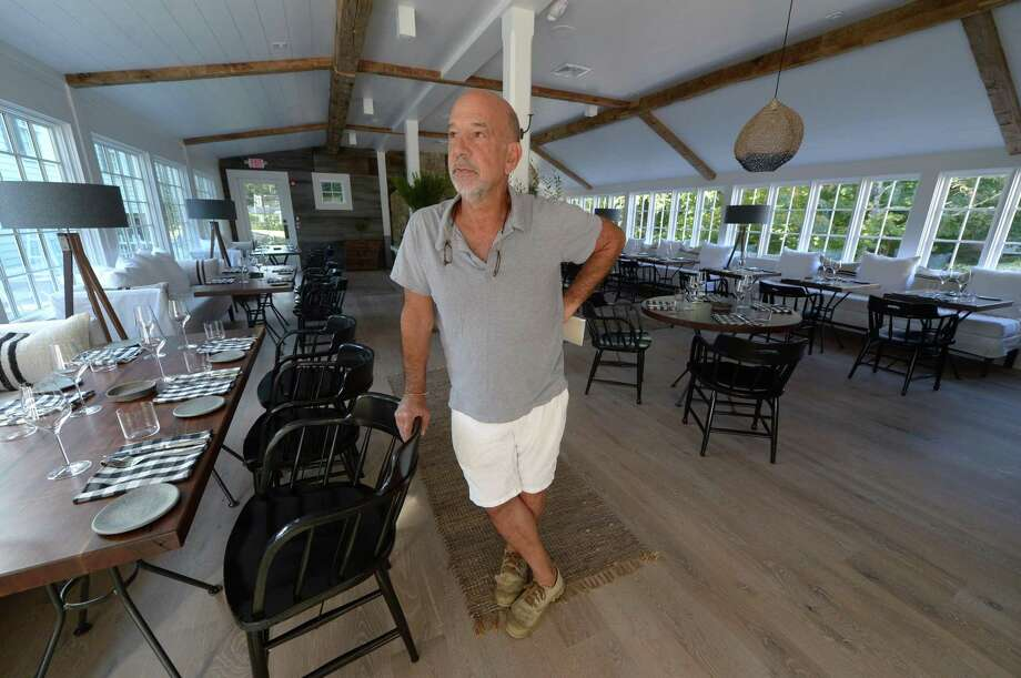 Developer Andy Glazer reboots the local legend of Silvermine Tavern Wednesday, September 27, 2017, with a renovation and introduction of the Tavern at Graybarns which opened in mid-September in Norwalk, Conn. Photo: Erik Trautmann / Hearst Connecticut Media / Norwalk Hour