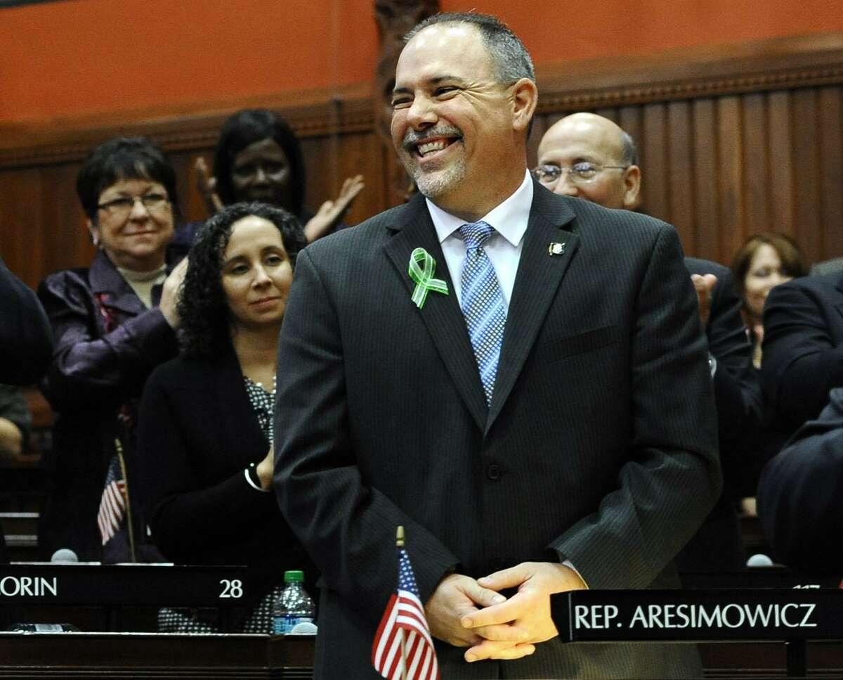 Speaker of the House Joe Aresimowicz D-Berlin