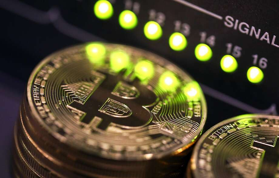 Bitcoin: threat or menace? Bankers can't make up their mind. Photo: Chris Ratcliffe, Bloomberg