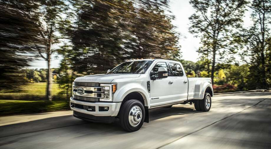 Ford's new F-Series Super Duty Limited made waves this week after Ford unveiled it, topping out at $94,000 if every bell and whistle gets added on. Don't let the price fool you, that F-450 Limited can still tow more than 30,000 pounds if needed. See more of Ford's crown jewel at this year's 2017 Texas Auto Show... Photo: Ford Motor Company