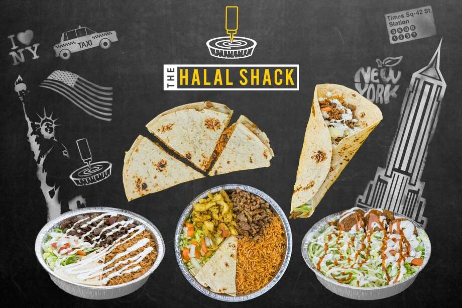 "The Halal Shack services rice bowls, lettuce bowls, ""naanadillas"" and more. Photo courtesy of Jamal Rassouly."