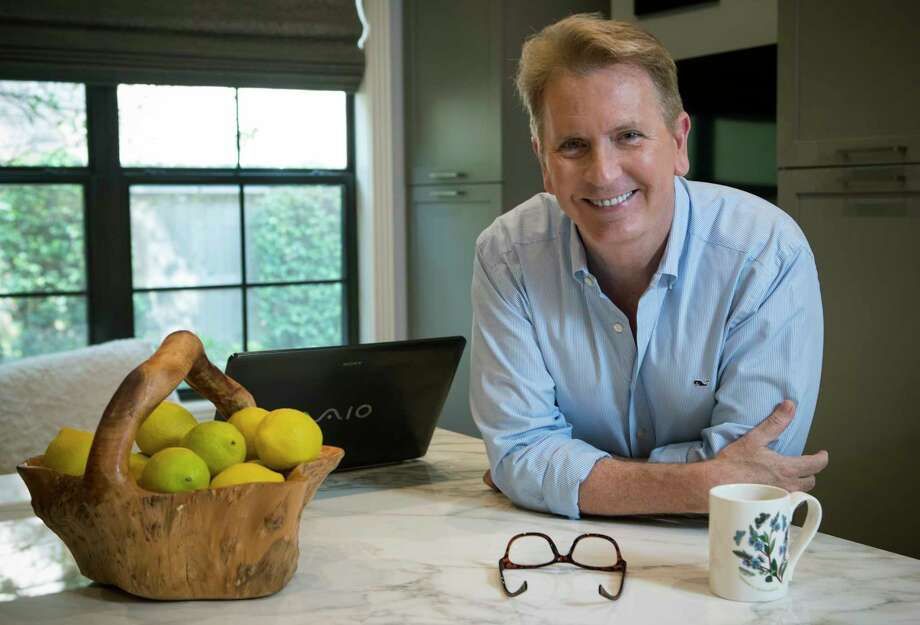 """Frank Billingsley, longtime KPRC weatherman, poses for a portrait at his home on Thursday, Sept. 21, 2017, in Houston. Billingsley was adopted and never knew his biological family, but a few years ago he took a DNA test that gave him some answers - and set him off on a journey to find his family. His book, """"Swabbed and Found,"""" is about the DNA test and the search. ( Brett Coomer / Houston Chronicle ) Photo: Brett Coomer, Staff / © 2017 Houston Chronicle"""