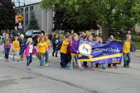 Hatchets, ranging from second grade to senior year, filled the downtown area of Bad Axe on Friday before the Hatchets took on the Cass City Red Hawk for their homecoming football game.