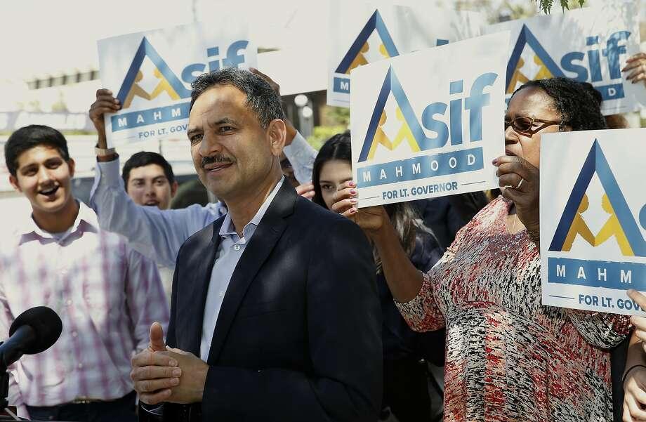 Candidate Asif Mahmood has already changed course. Photo: Nick Ut, AP