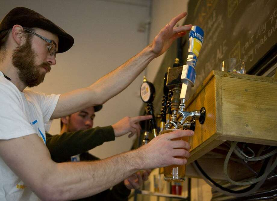 Stamford's Half Full Brewery will be serving seasonal beers at the Stamford Museum & Nature Center's Oktoberfest on Friday. Find out more. Photo: File Photo / Stamford Advocate