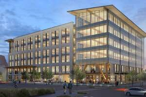 Local developer Hixon Properties is partnering with the Cavender auto family to build a six-story office building on Broadway — the first phase of a new neighborhood they plan to construct on land they own along the downtown thoroughfare.
