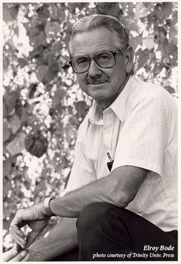 Elroy Bode: An elegant writers whose book would benefit any bookcase. Photo: /Courtesy