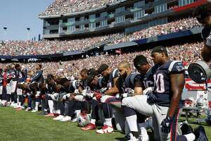 Several New England Patriots players kneel during the national anthem last weekend. They aren't delivering the devastating rebuke to President Donald Trump that they may imagine.