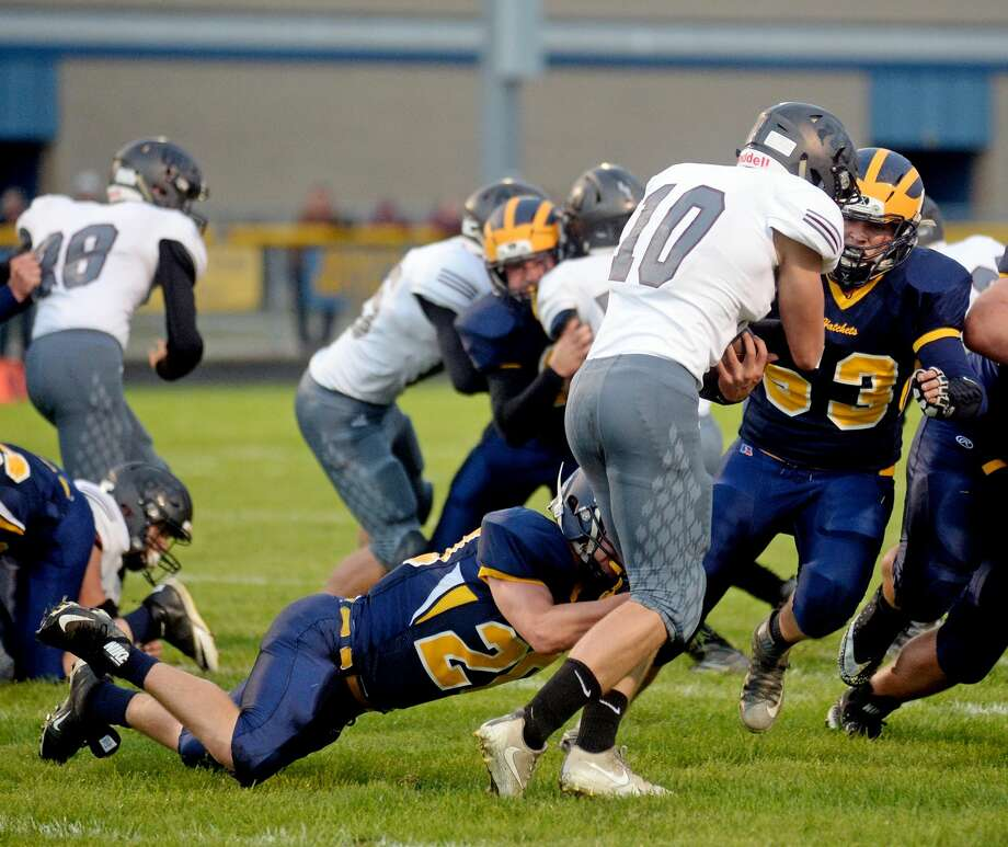 Cass City at Bad Axe — Football 2017 Photo: Paul P. Adams/Huron Daily Tribune