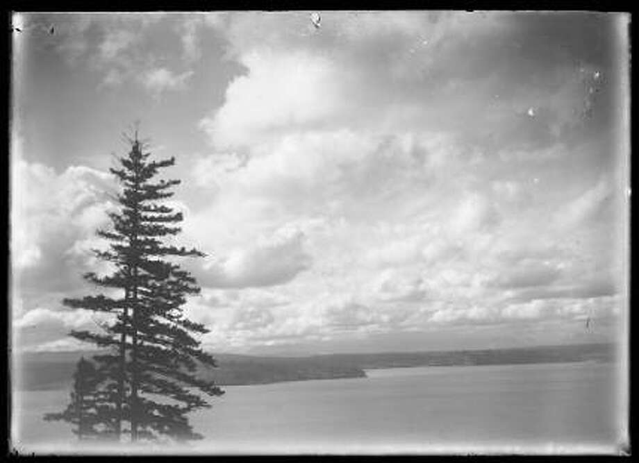 A view west over Puget Sound, circa 1910. Photo: Courtesy Seattle Public Library