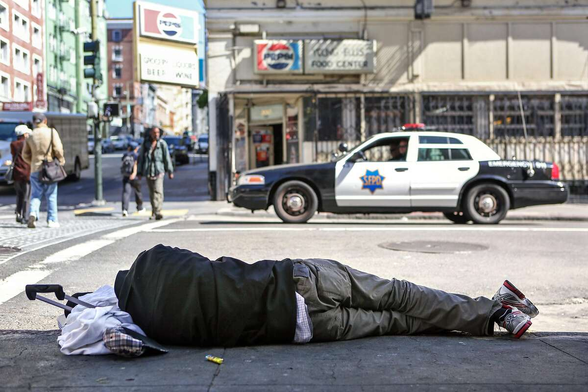 In the Tenderloin, says Canada Dry,� the worst problem is the traffic .