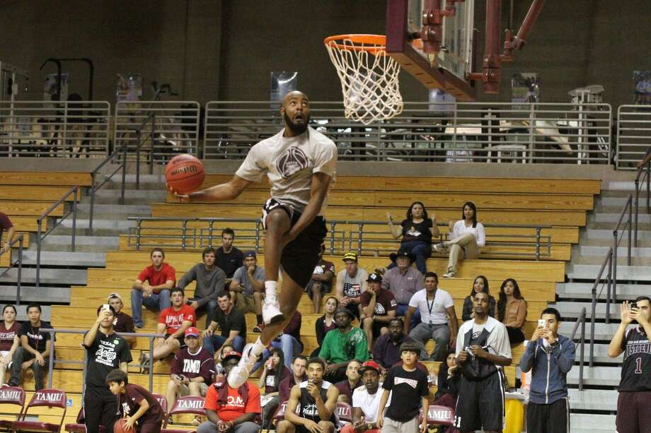 Former TAMIU star Jordan Clark signed professionally to play in Mexico this offseason. Clark guided the Dustdevils to a school record 22 wins in 2013-14 including a conference championship and NCAA Tournament appearance. Photo: Laredo Morning Times Staff File