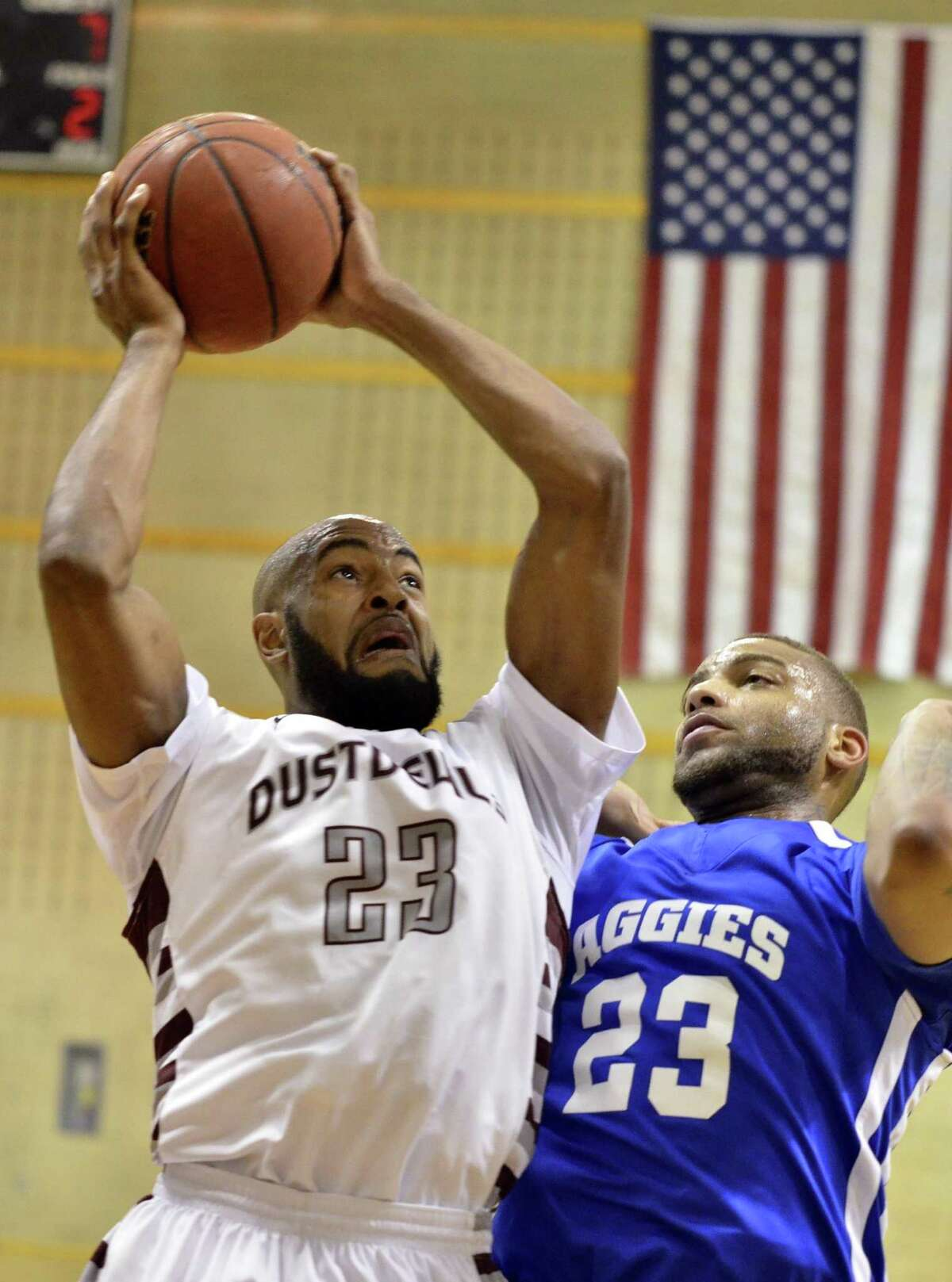 Jordan Clark is one of many returning stars for Dustdevil basketball that will face the current team in the 2017 TAMIU Alumni Game Saturday at 5 p.m.