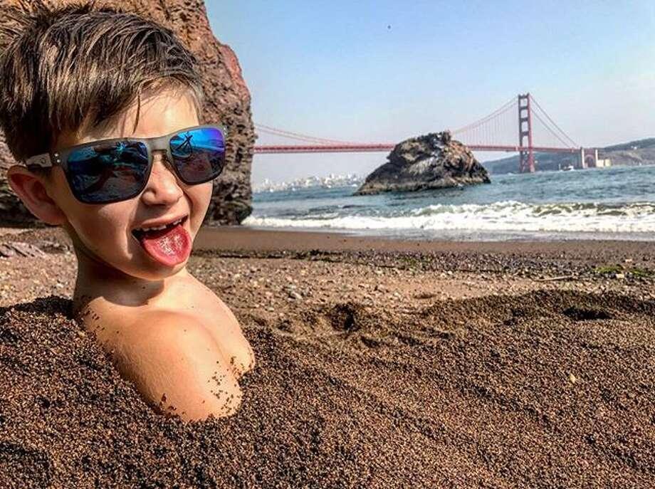 "@bry_hdz found ""The San Francisco Beach Life""  at Kirby Cove. Photo: Instagram / Bry_hdz"