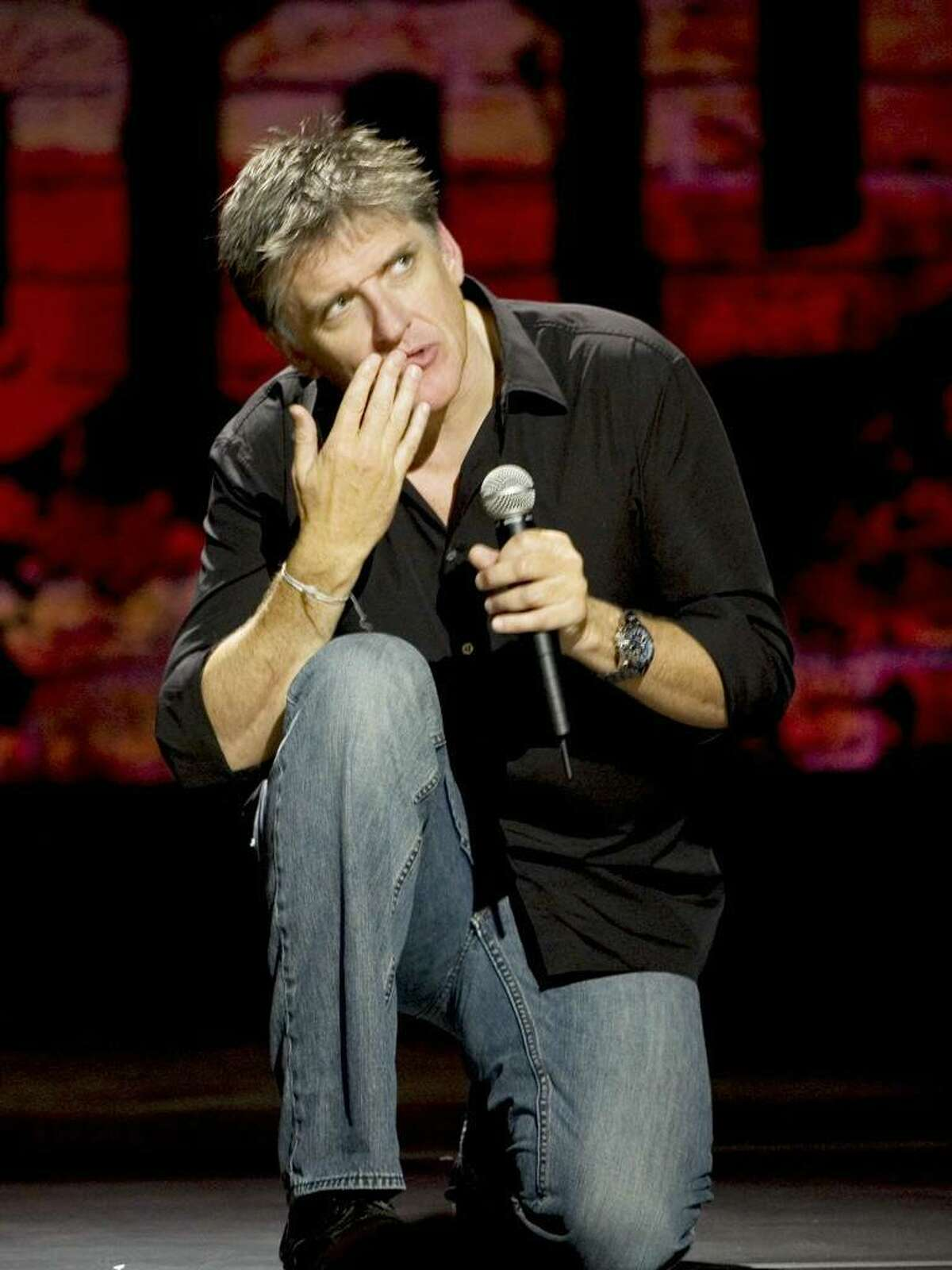 Craig Ferguson brings his stand-up performance to the Palace Theatre Wednesday.