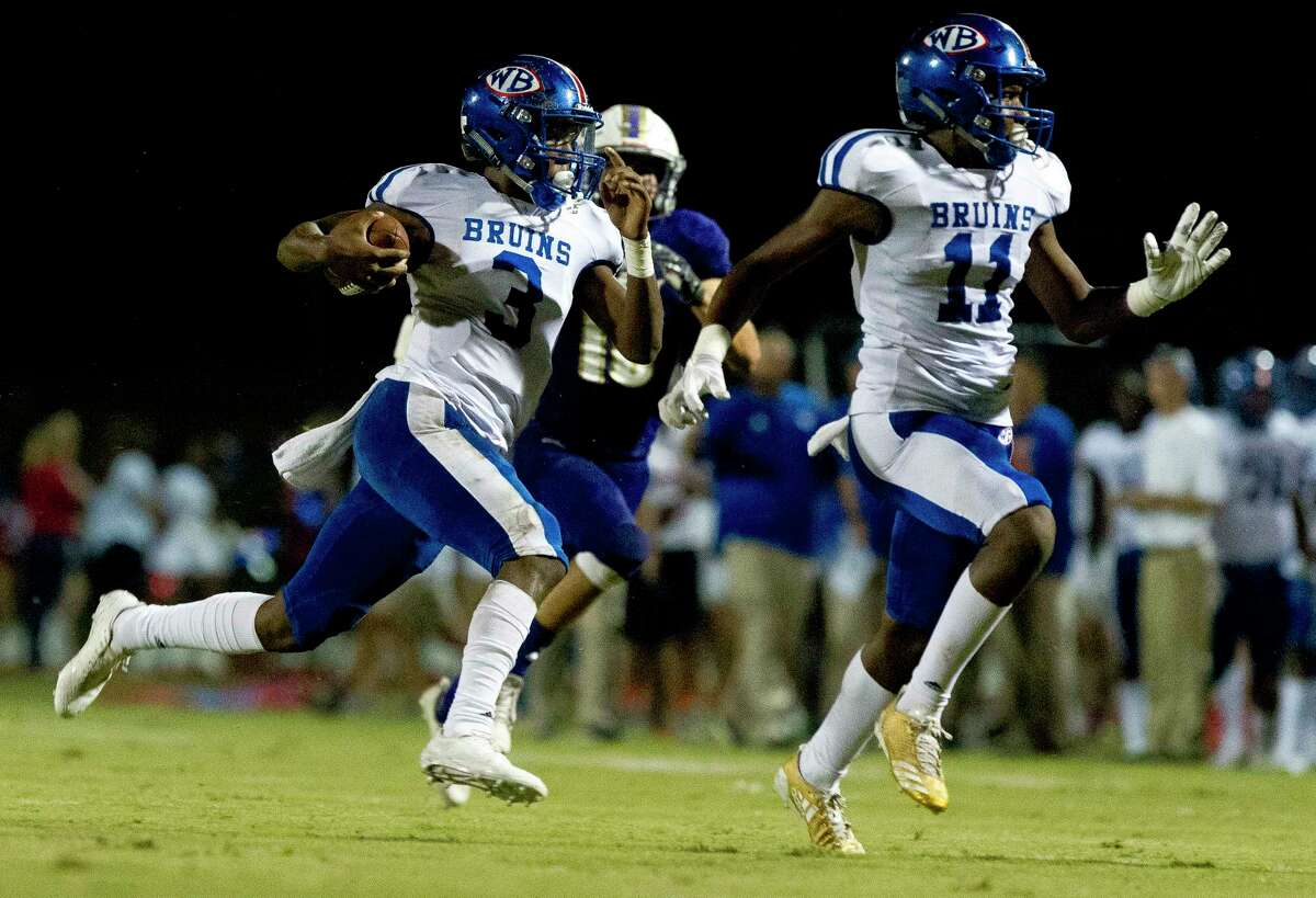 West Brook Bruins Rank: 2 Record: 4-0, 2-0 Classification: 6A Next: The Woodlands (Thursday)