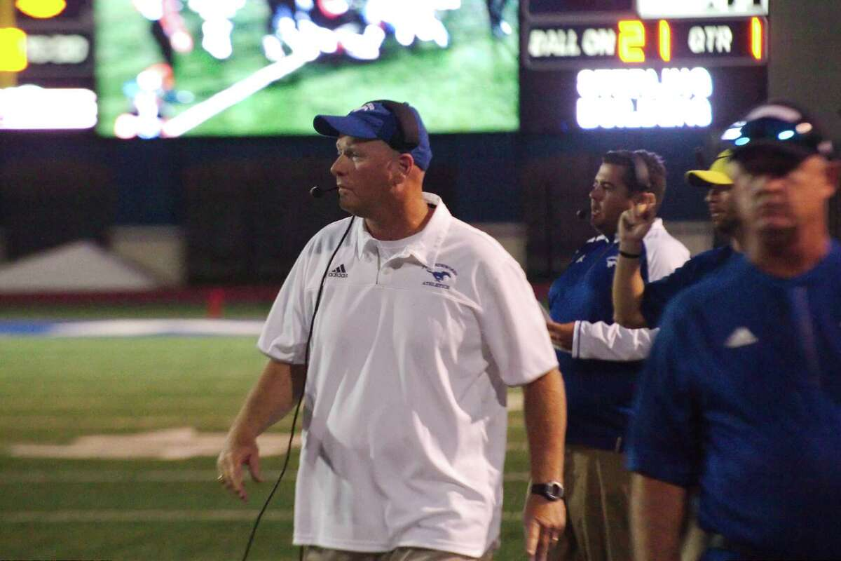 Friendswood football coach Robert Koopmann hopes his team can slow down a potent Clear Springs offense while improving its offensive play.