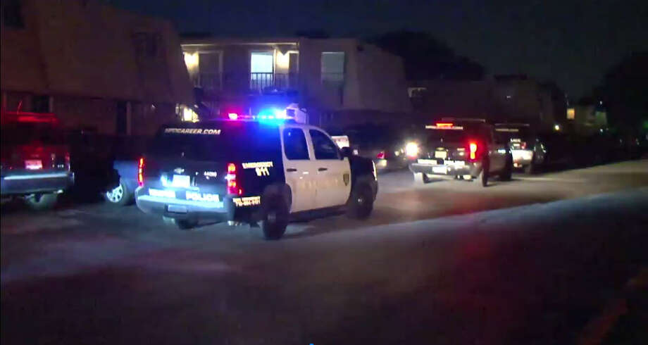 A man was found shot Friday night in the head and the abdomen in northwest Houston, according to the Houston Police Department.  Photo: Metro Video