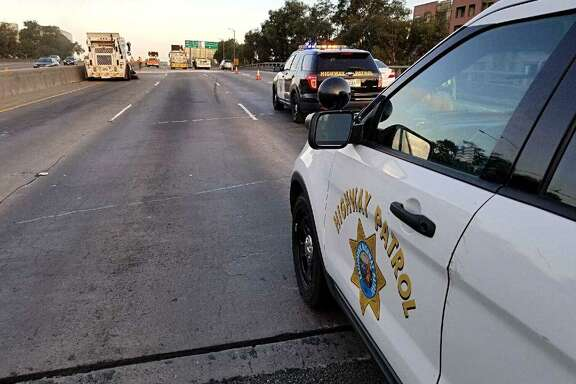 Two women died early Saturday in a head-on collision on Interstate 880 in Oakland, according to the California Highway Patrol.