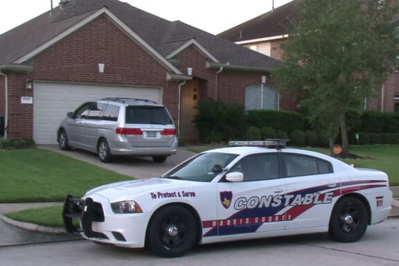 A woman was reportedly beaten by her husband early Saturday morning at a residence in Spring, according to authorities.