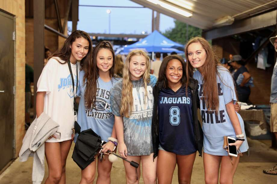 Johnson thoroughly handled business Friday night at their homecoming game, and delighted fans as they took on Roosevelt in a 42-0 blowout. Photo: Marco Garza For MySA