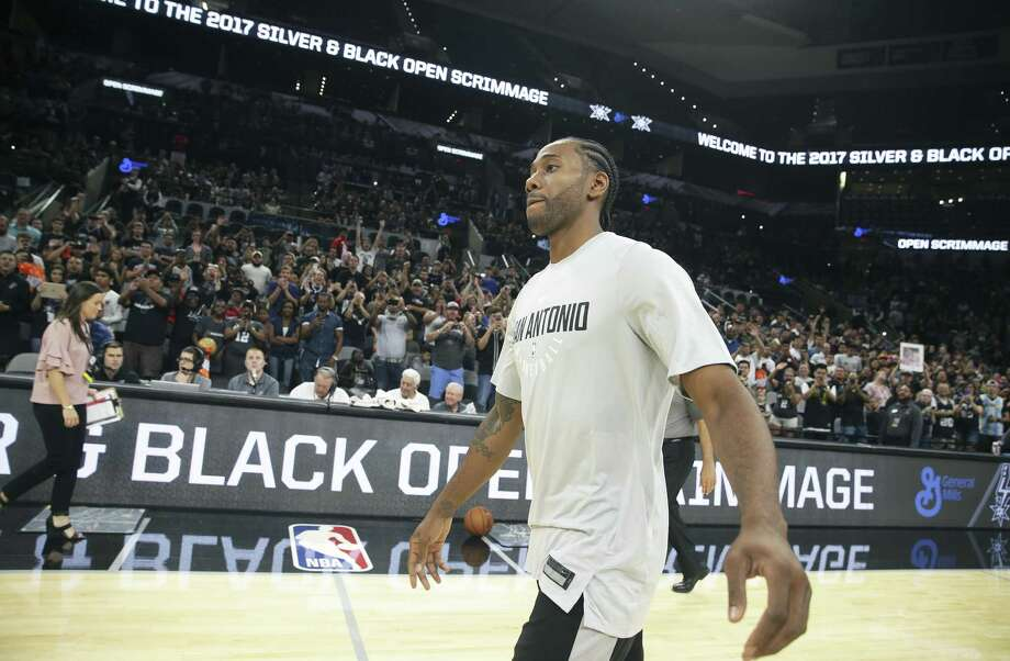 Kawhi Leonard is positioned to sign a huge deal with the Spurs. Photo: Tom Reel /San Antonio Express-News / 2017 SAN ANTONIO EXPRESS-NEWS